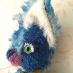 青の大きい猫2