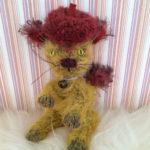 ベレー帽のネコ