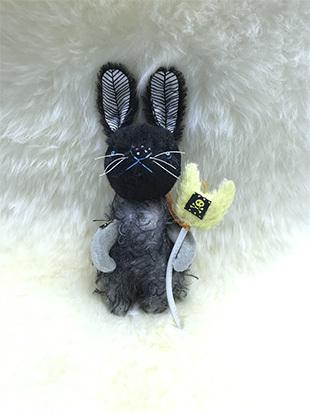 黒ウサギのイメージ